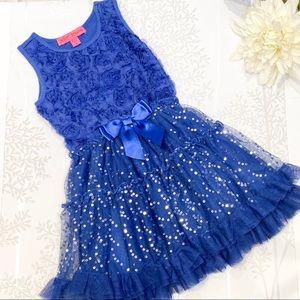 Betsey Johnson Little Girls Party Dress Size 5